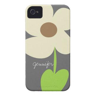 La margarita del zen personalizó la caja de la cas Case-Mate iPhone 4 cárcasa