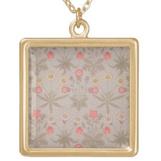 """La """"margarita"""", el primer papel pintado diseñó por collar dorado"""