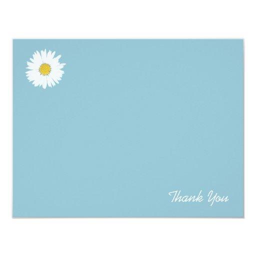 La margarita en el azul el | plano le agradece invitación 10,8 x 13,9 cm