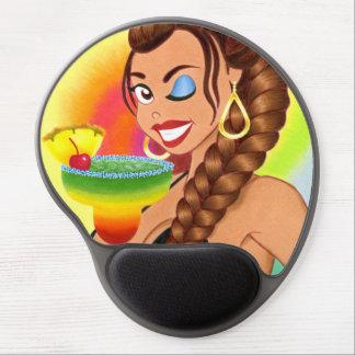 La Margarita Girl Gel Mouse Pad
