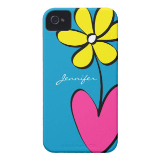 La margarita moderna personalizó la caja del iPhon Case-Mate iPhone 4 Cárcasas
