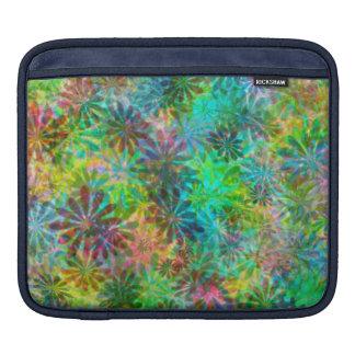 La margarita multicolora florece la caja del iPad Funda Para iPads