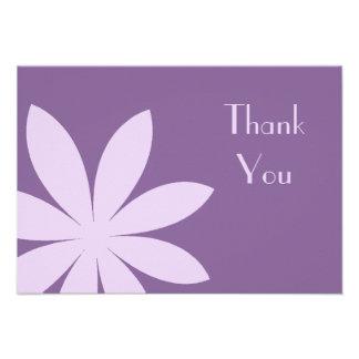 La margarita púrpura le agradece las notas - plano comunicado