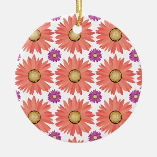La margarita púrpura rosada de Gerber florece el Ornamento Para Reyes Magos