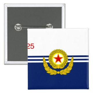 La marina de guerra de la gente coreana, bandera d pin