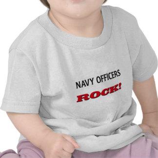 La marina de guerra manda la roca camiseta