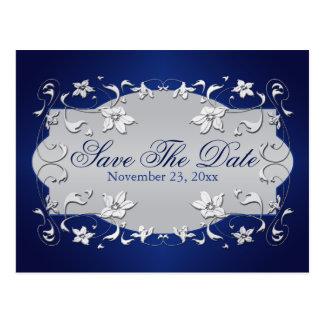 La marina de guerra, plata floral, corazones ahorr postales