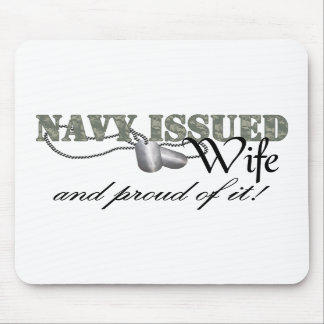 La marina de guerra publicó a la esposa alfombrillas de ratones