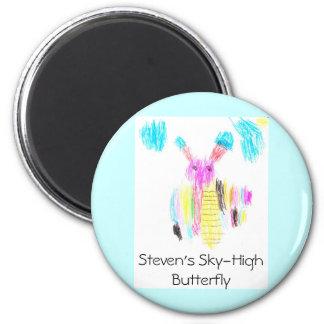 La mariposa altísima de Steven Imán Para Frigorifico