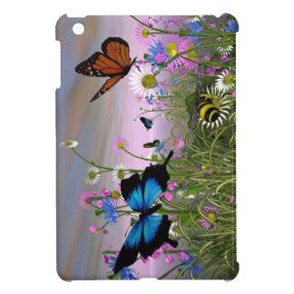 La mariposa besa el mini caso del iPad