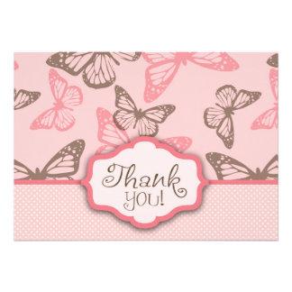 La mariposa besa rosa de la tarjeta 2 de TY