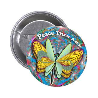 La mariposa de la paz… que causa sonríe por todo e pin