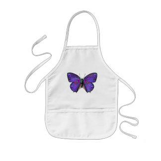 La mariposa de Persephone Delantal Infantil