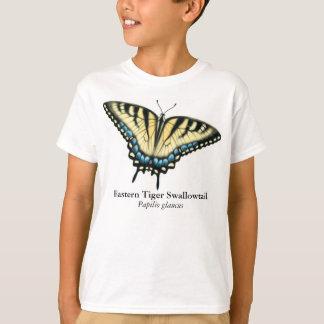 La mariposa de Swallowtail del tigre embroma la Playera