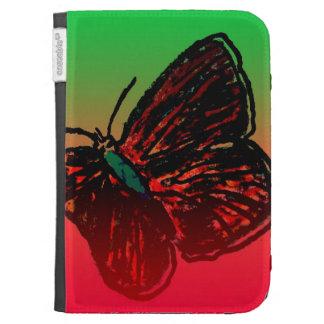 La mariposa enciende la caja