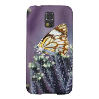 La mariposa Flitter vintage del alboroto Carcasa Para Galaxy S5