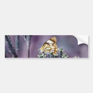 La mariposa Flitter vintage del alboroto Pegatina Para Auto