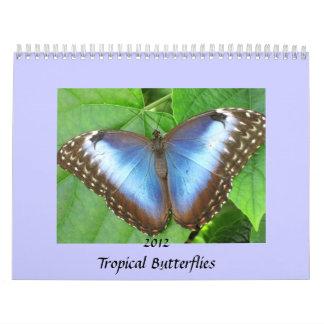 La mariposa fotografía el calendario 2012