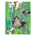 La mariposa Jewels el aviador Flyer A Todo Color