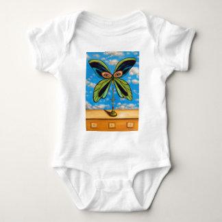 La mariposa más grande body para bebé
