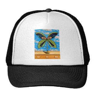 La mariposa más grande gorros