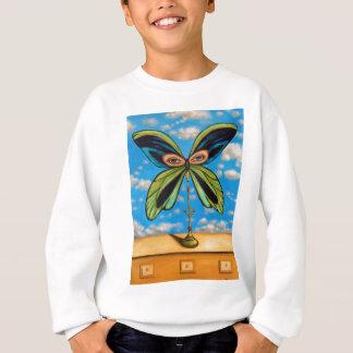 La mariposa más grande sudadera