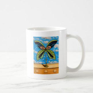 La mariposa más grande taza de café