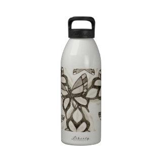 La mariposa pasada por AspenWDK Botellas De Agua Reutilizables