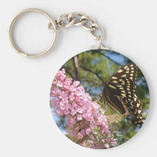 ¡La mariposa perfecta! Llavero Redondo Tipo Pin
