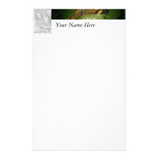 La mariposa personaliza con la foto y el nombre  papeleria de diseño