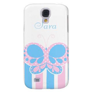 La mariposa puntea el caso del iPhone 3