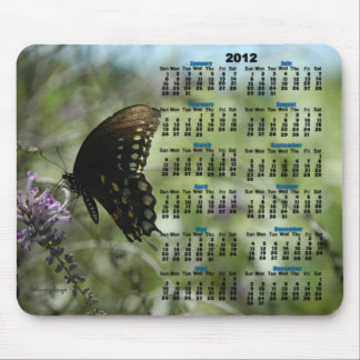 La mariposa soña 2012 el calendario Mousepad