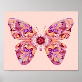 La mariposa soña el poster
