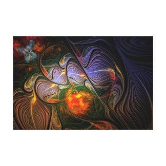 La mariposa soña la colección #15 lona estirada galerias