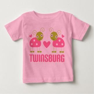 La mariquita linda de Twinsburg Ohio embroma la Playera De Bebé