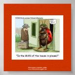 La mariquita publica el dibujo animado en el poste