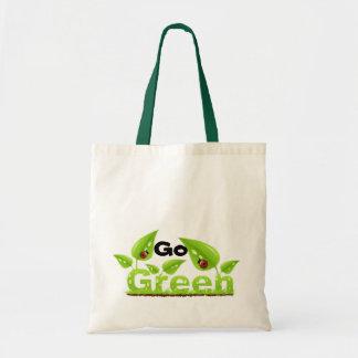 La mariquita va verde bolsa tela barata
