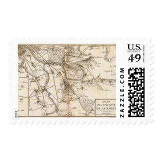La Marne Stamp