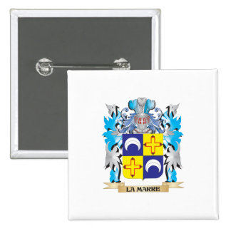 La-Marre Coat of Arms - Family Crest Buttons
