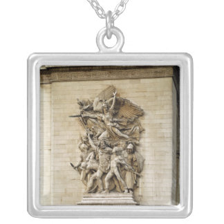 La Marseillaise Silver Plated Necklace