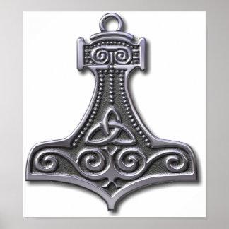 La Martillo-plata del Thor Impresiones