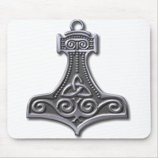 La Martillo-plata del Thor Tapetes De Ratones
