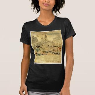 La masacre de Boston de Paul Revere Camiseta