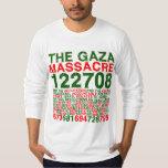 La masacre de Gaza Playera