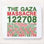 La masacre de Gaza Tapetes De Ratón