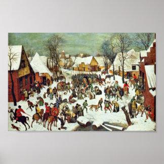 La masacre de los Innocents por Bruegel D Ä P Posters