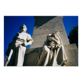 La masacre histórica de Ludlow del 20 de abril de Póster