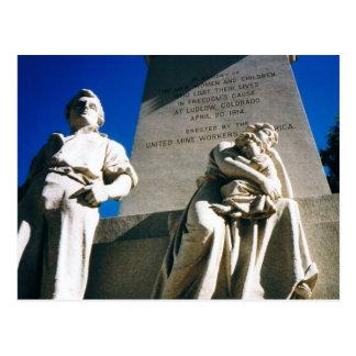 La masacre histórica de Ludlow del 20 de abril de Tarjetas Postales