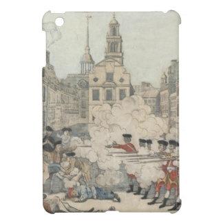 La masacre sangrienta - Paul Revere (1770) iPad Mini Protector