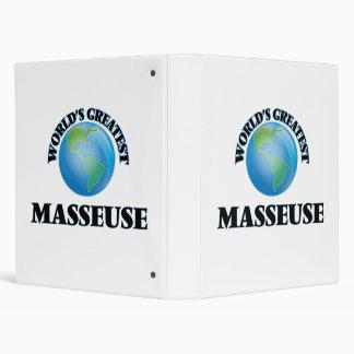 La masajista más grande del mundo